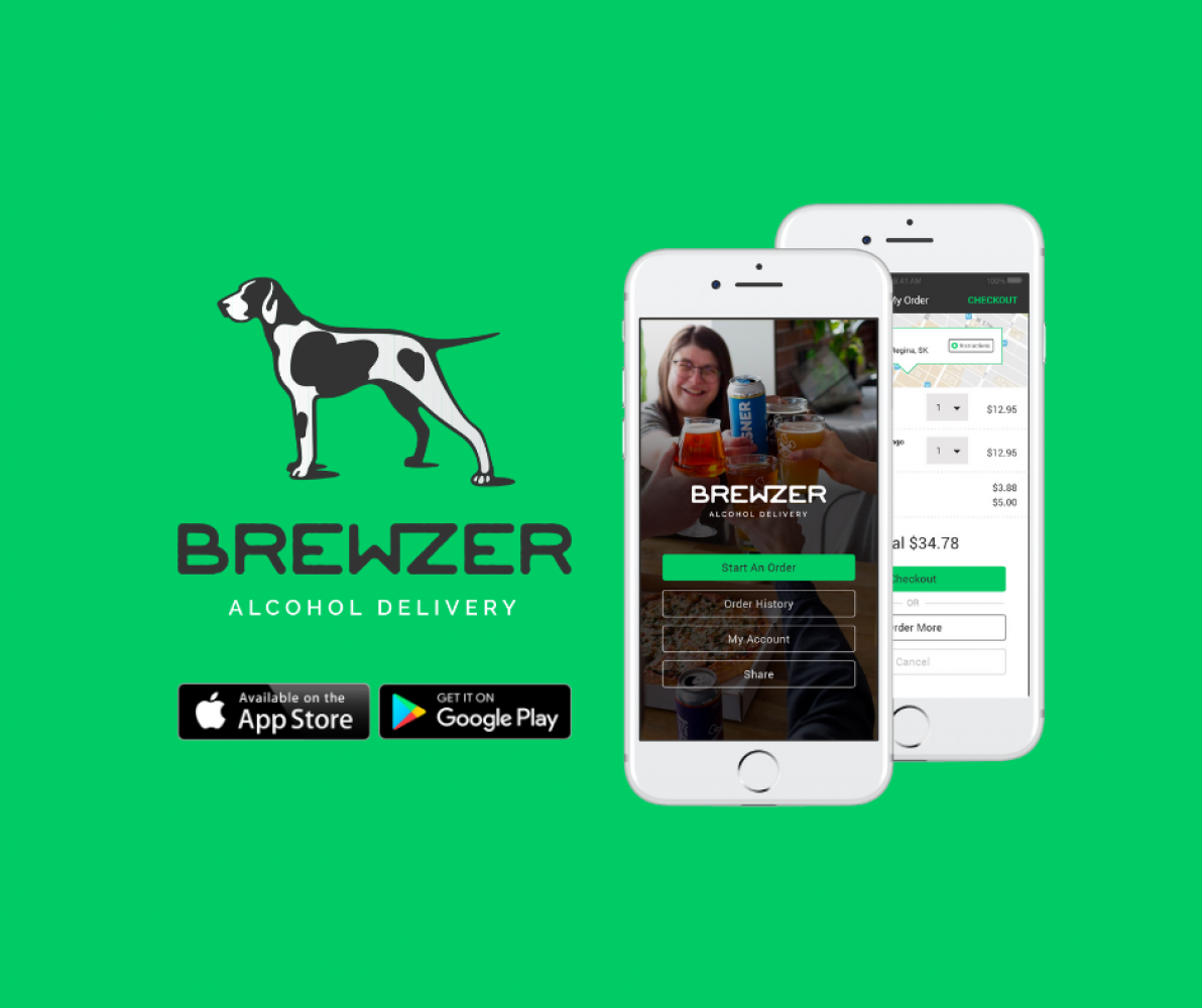 District Brewing Co. delivers straight to your door with new alcohol delivery app Brewzer®