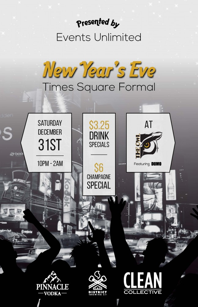 New Year's Eve Times Square Formal at The Owl