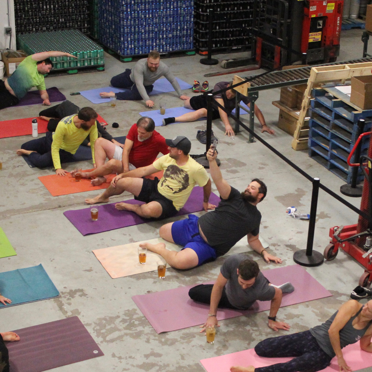 Yoga + Beer Night @ District:  A Combination to Achieve the Ultimate Zen - Image 4