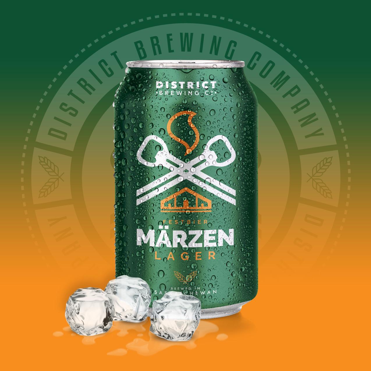 Festbier Marzen Distrcit Brewing Company Craft Beer