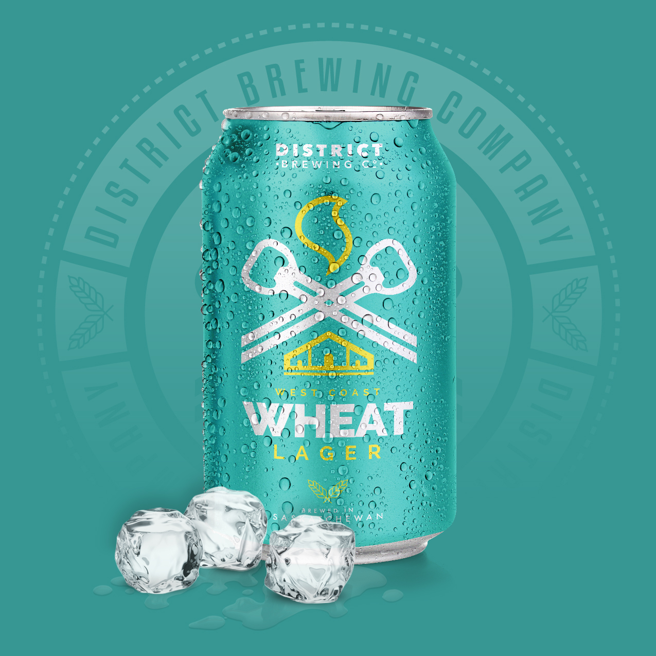 West Coast Wheat Distrcit Brewing Company Craft Beer