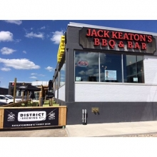 @saskroughriders pre game party at @jack_keatons_bbq_bar now till kick off! #YQR #roughriders