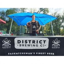 #TrifectaYQR  Come checkout Trifecta Festival and try our newest Festbier brew on draught in downtown Regina! @trifectayqr