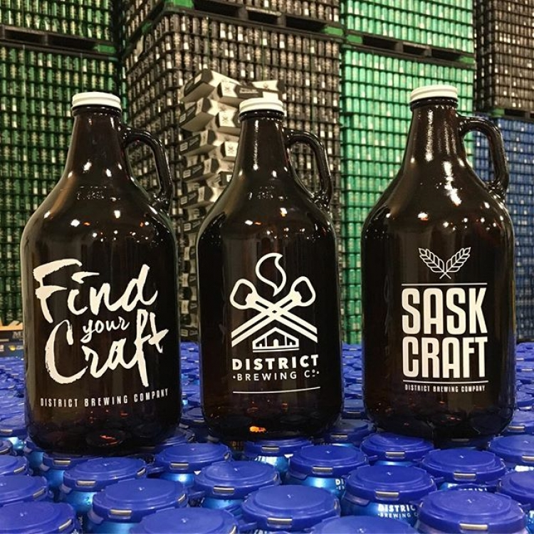 3 NEW Growlers to choose from! #FindYourCraft #SupportLocal #YQR #Sask