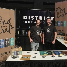 The fellas having a blast at BBB! Come say hi and try some of our beers 🍻  #FindYourCraft #AllNatural