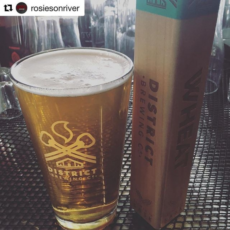 Wheat on Tap- a sign of summer!! ☀️ #Repost #findyourcraft #drinklocal @repostapp ・・・ Back on tap by popular demand - @districtbrewing West Coast Wheat!!! Make Rosie's your pre/post @kipmooremusic concert destination. #wildonestour #moosejaw #lo