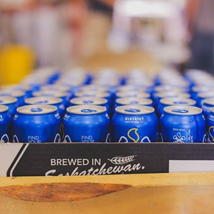 Brewed, canned and packed right here in Saskatchewan.  #FindYourCraft