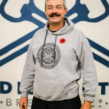 Today we recognize our very own Walter Martin, who served in the Canadian Military from 1977-2014. He completed a peace keeping tour in Bosnia and two tours in Afghanistan. We thank all of the service men and women for their service. #RemembranceDay #Lest