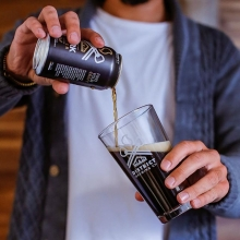Pouring up something tall & dark. Our Bavarian Dark is the perfect blend of flavour and body.  #FindYourCraft #drinklocal #shoplocal #brewedinsaskatchewan #exploresask #saskatchewan #YQR #beerporn