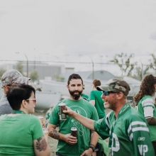 Join us today at the @reginarifles Tailgate Party! 📍South lawn of the Armoury at 1600 Elphinstone. 🍻The party kicks off at 4:30 pm . . . . . #beer #craftbeer #beerfest #districtbrewing #yqr #seeyqr #vacation #Travel #saskatchewan #hops #beerpong #ta