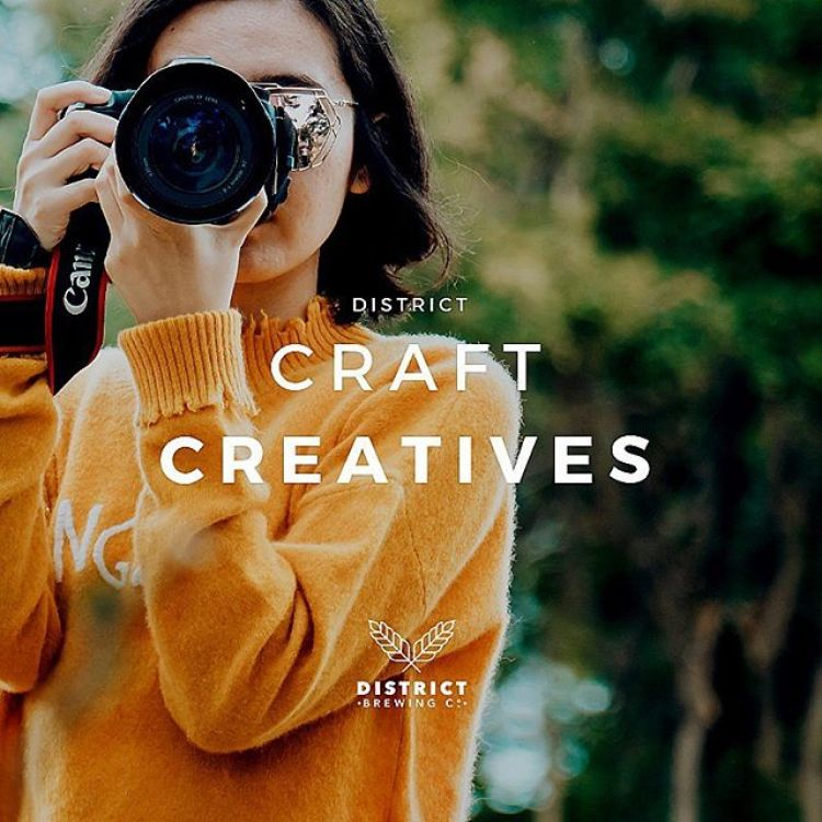 We're looking to grow our team of #DistrictCraftCreatives - #Photography ambassadors to showcase their craft of #creativity and imagery.  Our team of talented ambassadors will receive complimentary District gear & 🍻  Interested in becoming an amba