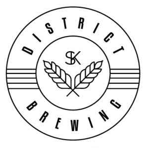 District Brewing Co. Alternative \Clean\ logo
