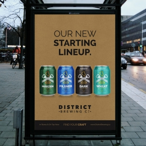 District Brewing Co. Poster