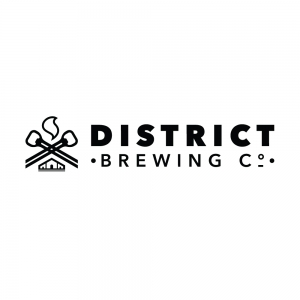District Brewing Co. Horizontal Logo