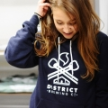 Original District Brewing Hoodie - Navy
