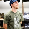 Drink Craft Repeat T-shirt - Lieutenant